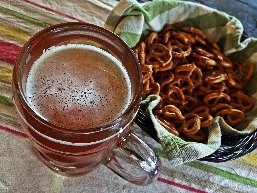 Bier und Brezeln